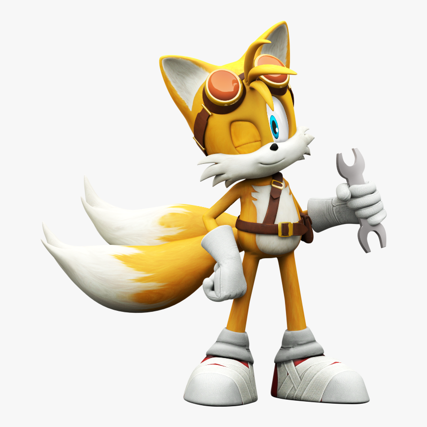 Tails Sonic Boom Png , Png Download - Sonic Boom Rise Of Lyric Tails, Transparent Png, Free Download