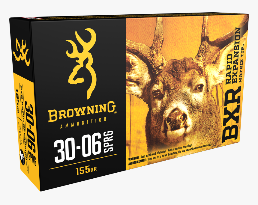 Browning Bxr Rapid Expansion Matrix Tip Deer Rifle - 6.5 Creedmoor Ammo For Deer Hunting, HD Png Download, Free Download