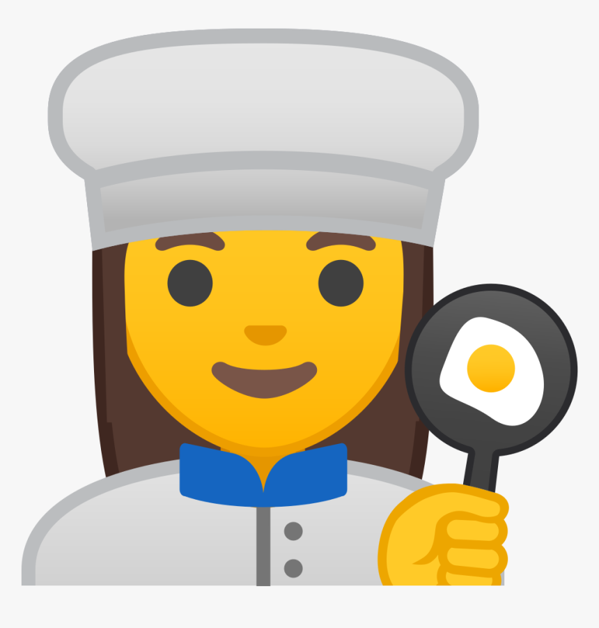 Woman Cook Icon - Emoji Chef Png, Transparent Png, Free Download