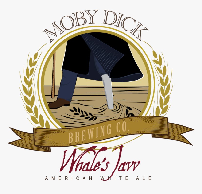 Whale's Jaw White Ale - Ishmael Moby Dick Brewing Co, HD Png Download, Free Download