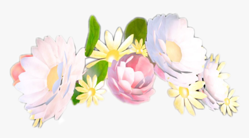 Snap Snapchat Flower Sticker By Maria - Snapchat Filters Flower Crown, HD Png Download, Free Download