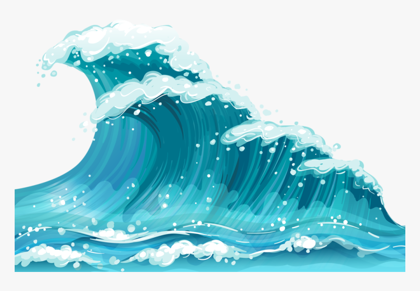 Ocean Clipart Ocean Surface Transparent Background Waves Png Png Download Kindpng