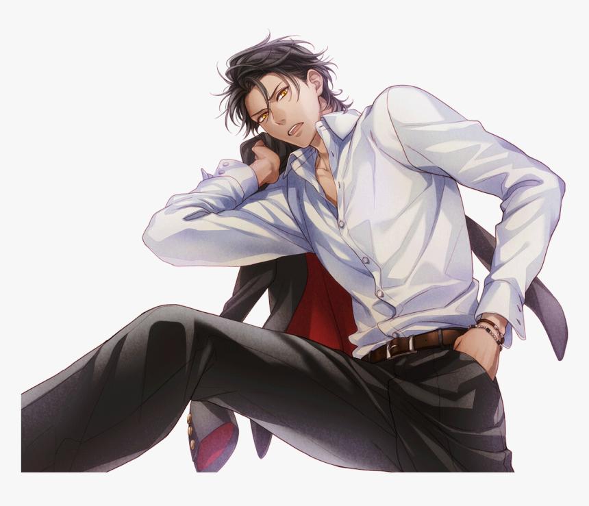 I-chu Wiki - Anime Boy Black Hair, HD Png Download, Free Download