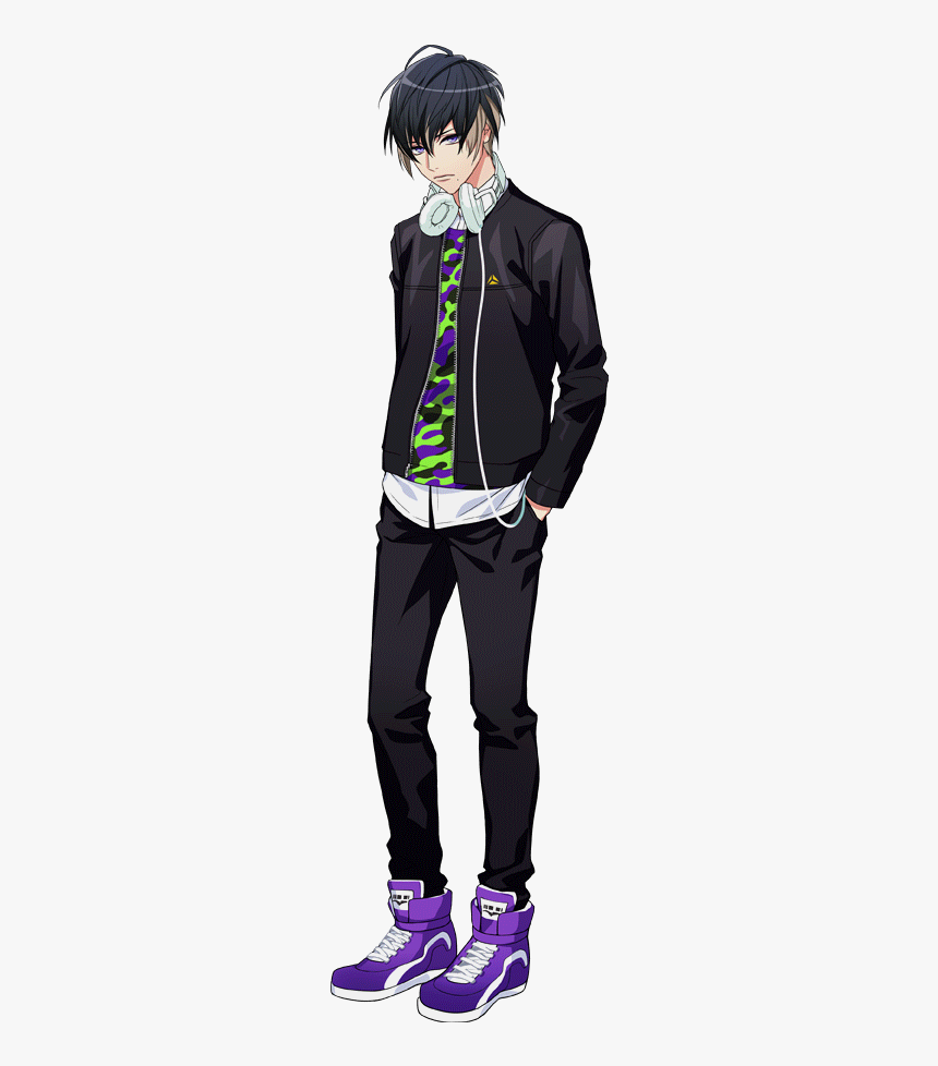 Anime Male Casual Outfits, HD Png Download - kindpng