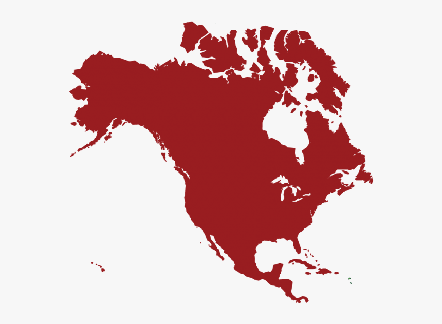 North America - North America Map Vector Png, Transparent Png, Free Download