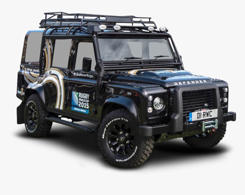 Black Land Rover Defender Car Png Image - Land Rover Defender Png, Transparent Png, Free Download