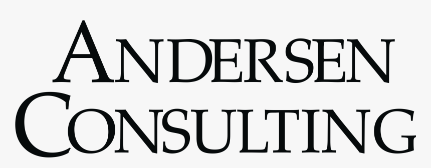 Andersen Consulting Logo Png Transparent - Arthur Andersen Andersen Consulting Logo, Png Download, Free Download