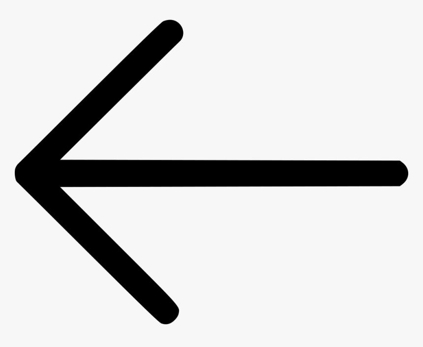 Arrow Direction Left Arrow Cursor Missile Dart - Back Arrow Icon Png, Transparent Png, Free Download