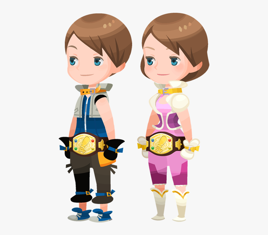 Struggle Champ Belt - Kingdom Hearts Union X Avatar Outfits, HD Png Download, Free Download
