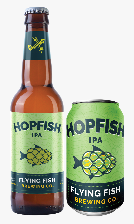 Flying Fish Hopfish Ipa, HD Png Download, Free Download