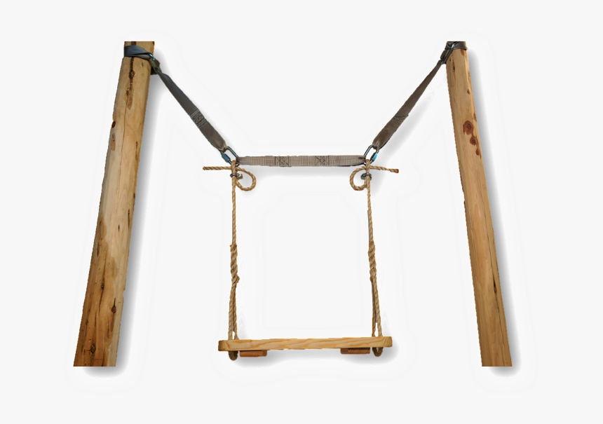 Swing Hanging Kit Between 2 Trees - Swing Between Two Trees Png, Transparent Png, Free Download