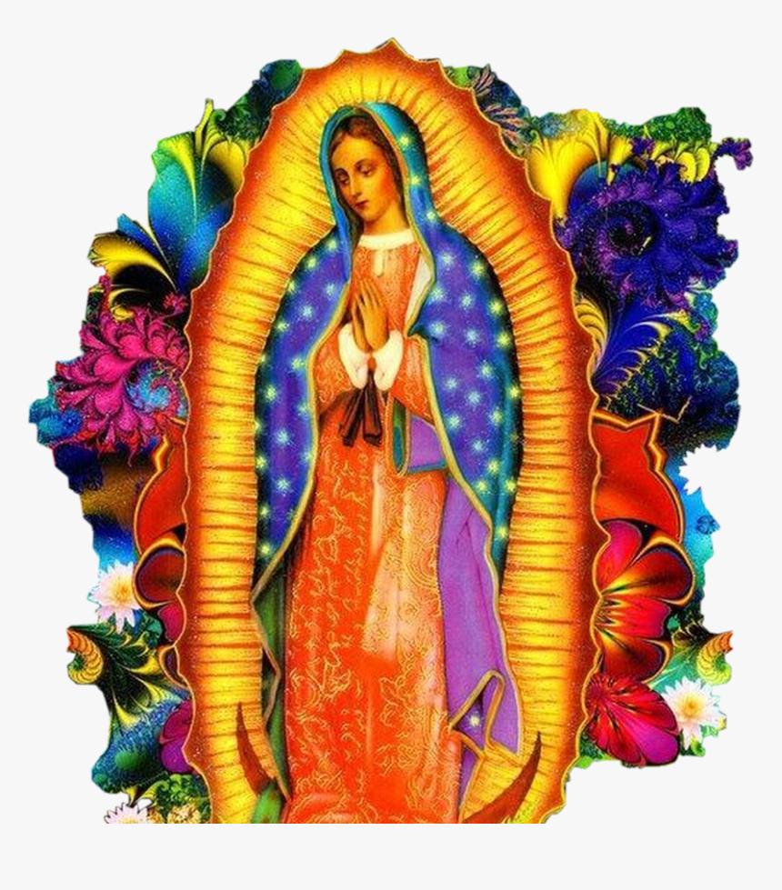 #photography Virgen De Guadalupe #freetoedit - Virgen De Guadalupe Azteca, HD Png Download, Free Download