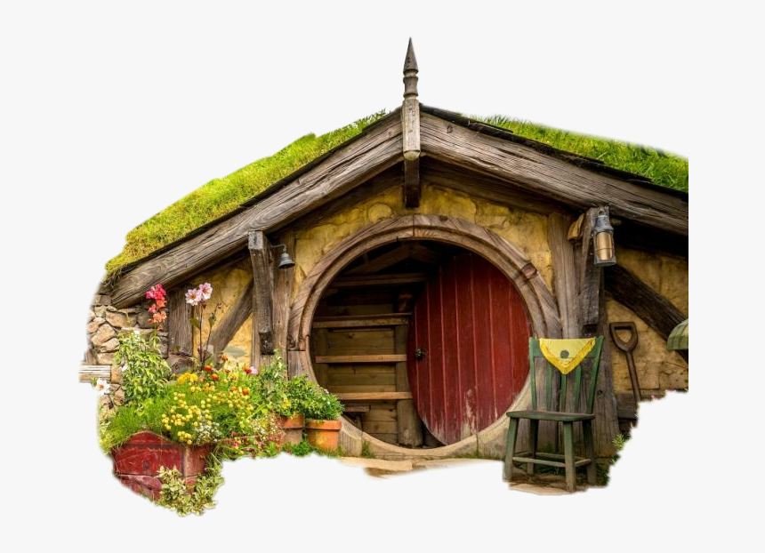 #fairyhouse #fantasy - Middle Earth Hobbit Hole, HD Png Download, Free Download