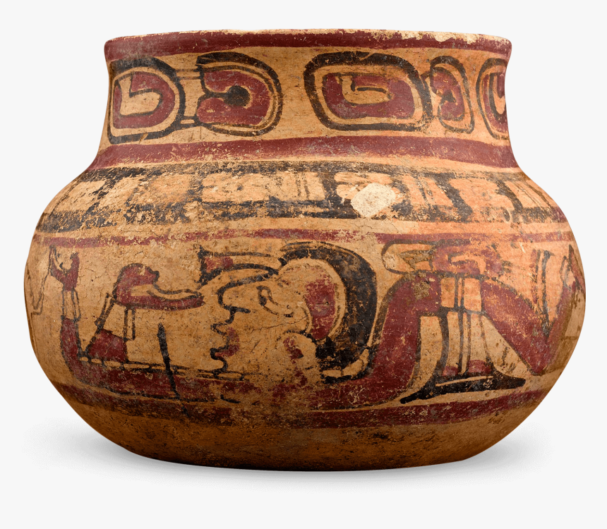 Pre-columbian Mayan Bowl - Earthenware, HD Png Download, Free Download