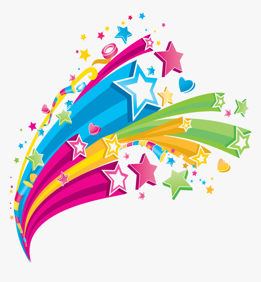 Transparent Star Clip Art - Clip Art Shooting Stars, HD Png Download, Free Download