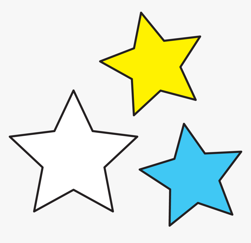 Transparent Star Clip Art Png - 4th Of July Star Clipart, Png Download, Free Download