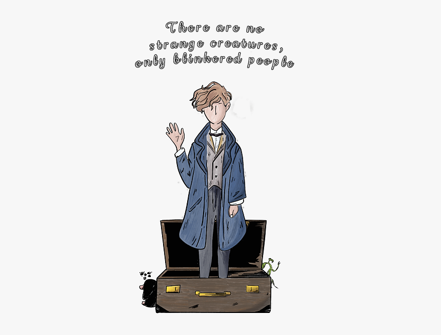 Fantastic Beasts and Where to Find ThemNewt Scamander Decal Sticker