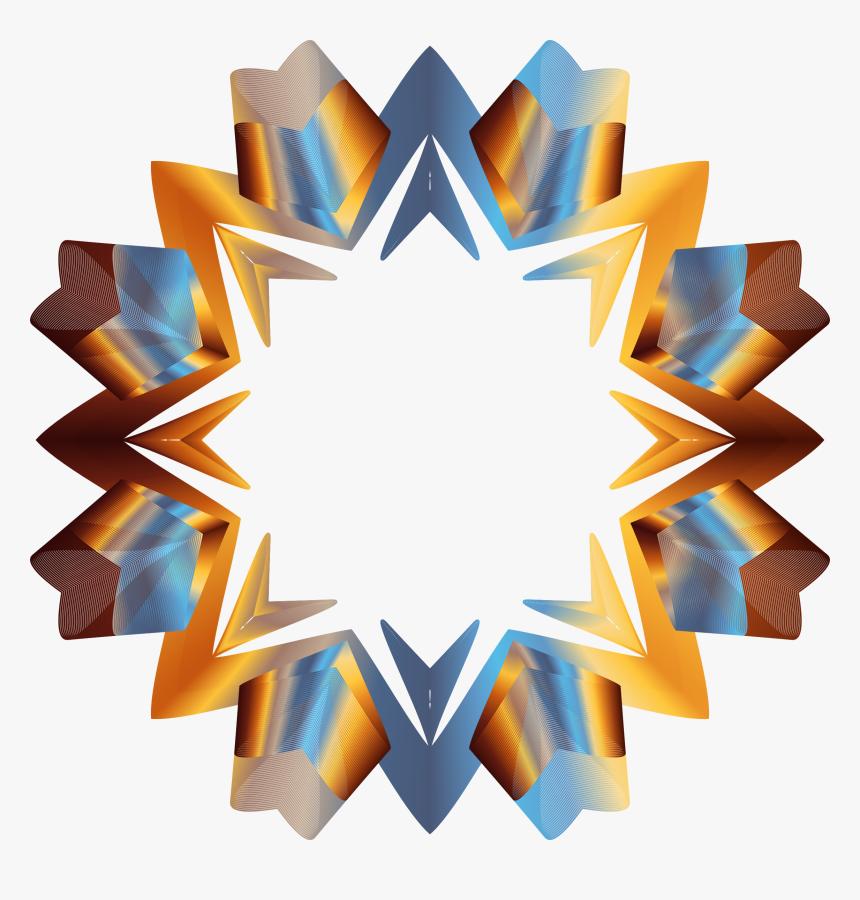 Prismatic Star Line Art 3 Variation 2 No Background - Transparent Background Line Png, Png Download, Free Download