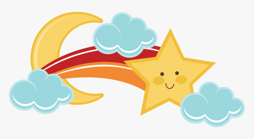 Shooting Stars Cute Clipart - Cute Shooting Stars Png, Transparent Png, Free Download