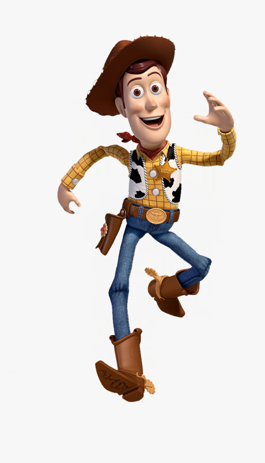 Pin Di Giorgia Ammirati Su Compleanno - Woody Toy Story Characters, HD Png Download, Free Download