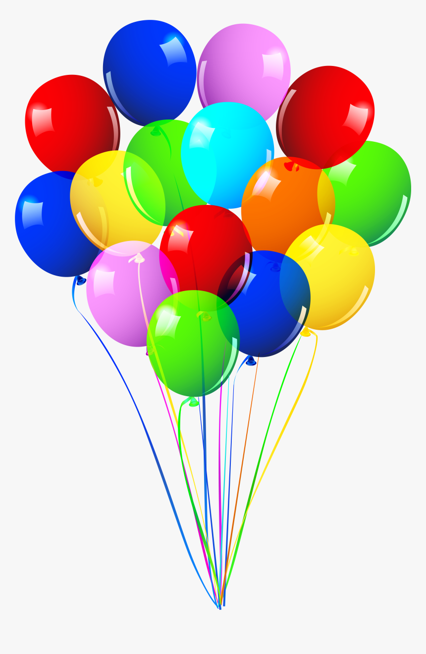 Bunch Of Balloons Png Image - Transparent Background Balloons Png, Png Download, Free Download