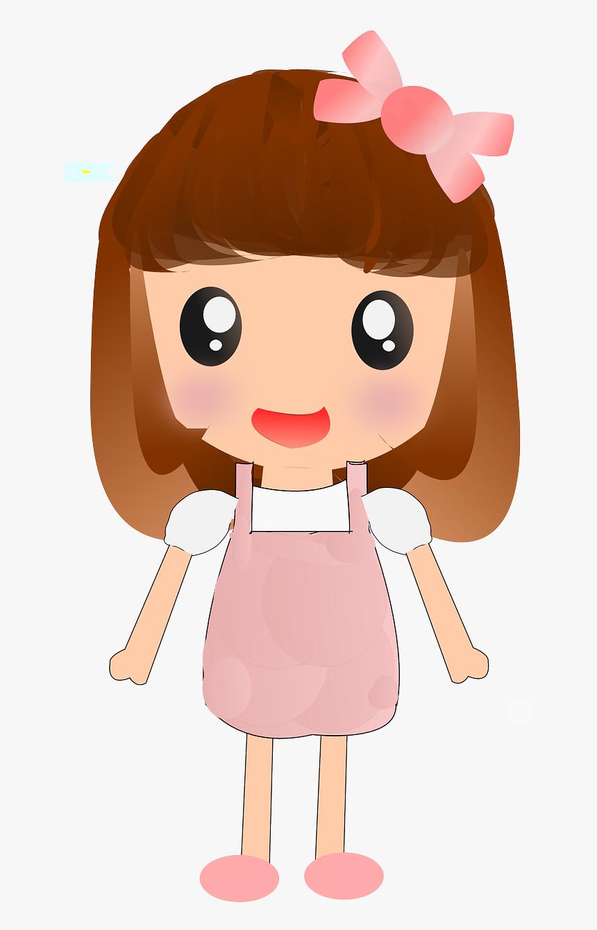 Gambar Anak Perempuan Kartun HD Download Kindpng