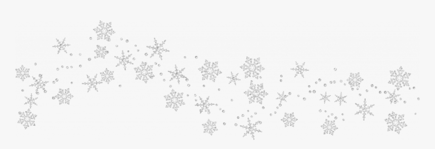 Banner Freeuse Stock Free Snowflake Clipart Borders - Transparent White Snowflake Border, HD Png Download, Free Download