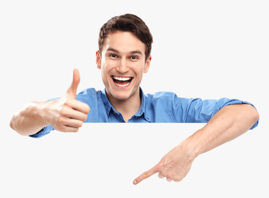 Guy Showing Thumbs Up, HD Png Download, Free Download