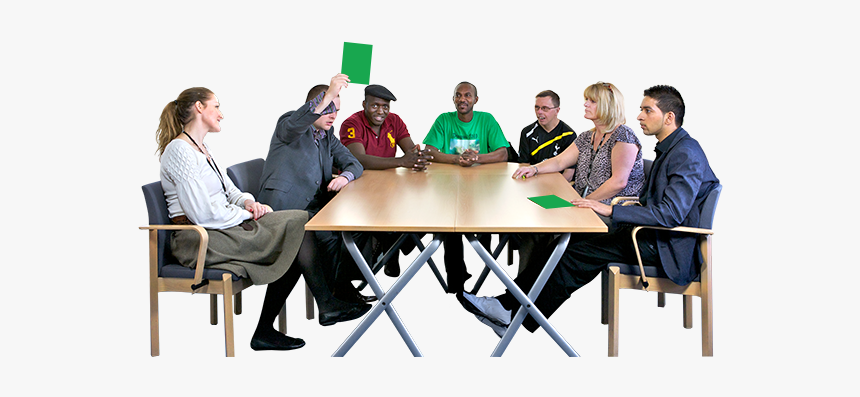 People Sitting At A Table Png People Meeting Room Png Transparent Png Kindpng