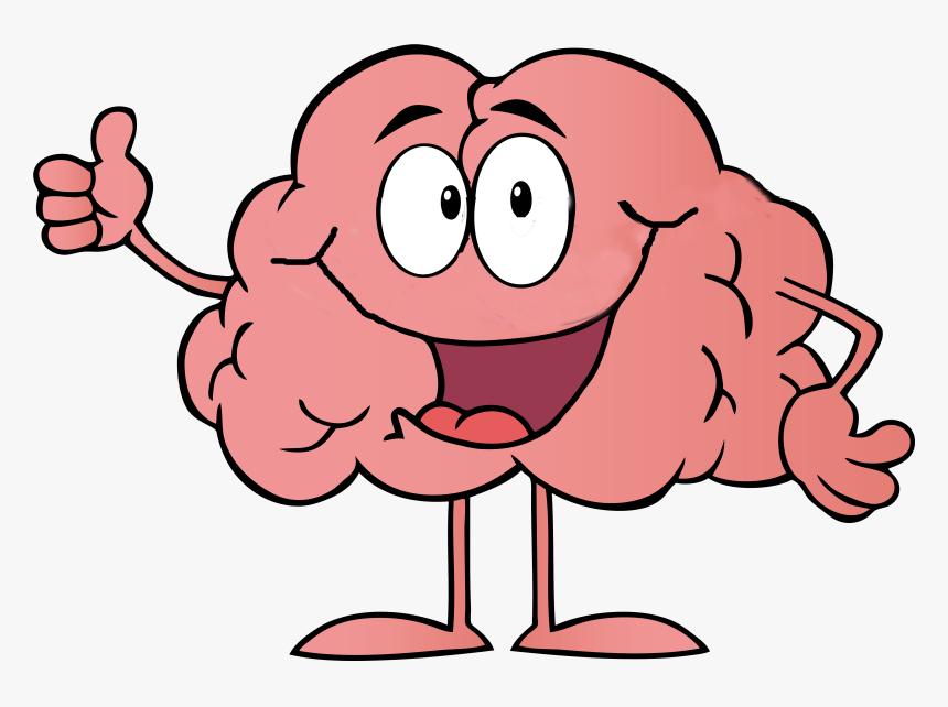 Cartoon Brain Clip Art - Brain Cartoon Png, Transparent Png - kindpng