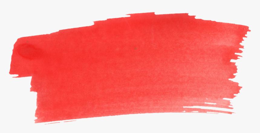 37 Red Watercolor Brush Stroke Png Transparent Vol - Paint Brush Stroke Png, Png Download, Free Download