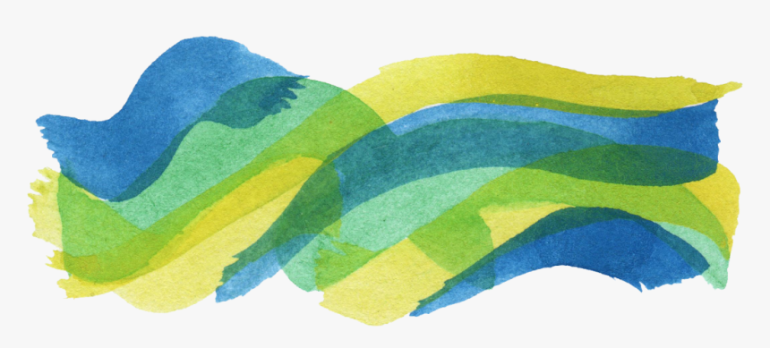 Colorful Stroke Banner - Colorful Brush Stroke Png, Transparent Png, Free Download