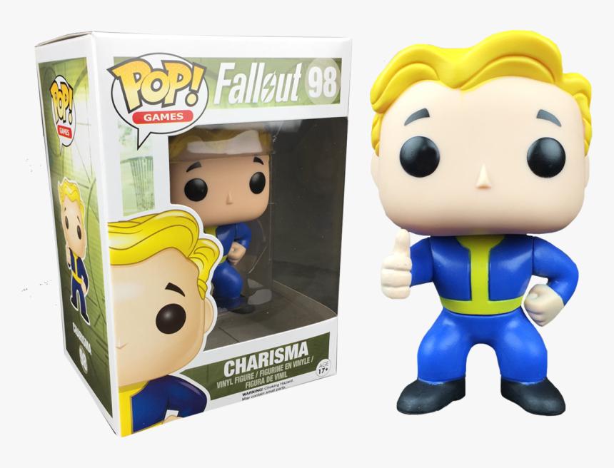 Charisma Vault Boy Thumb Up Pop Vinyl Figure - Funko Pop Fallout Vault Boy, HD Png Download, Free Download