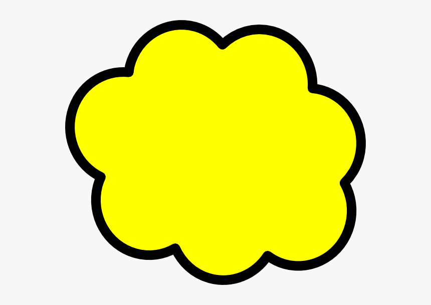 Bubble Clipart Exclamation - Yellow Speech Bubble Transparent, HD Png Download, Free Download