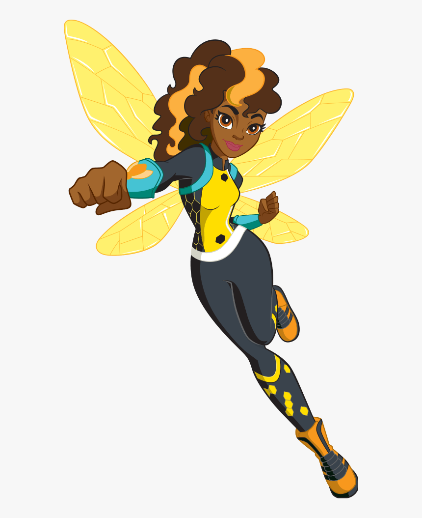 Dc Super Hero Girls Bumblebee - Dc Super Hero Girls Characters, HD Png Download, Free Download