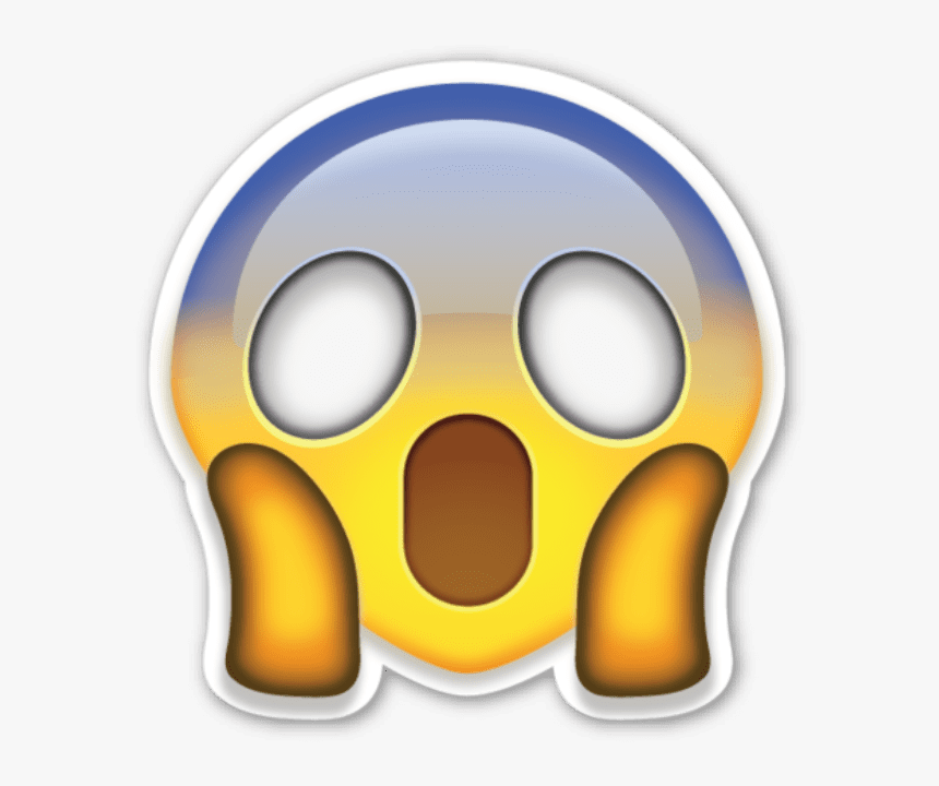 Surprised Emoji Transparent Background, HD Png Download, Free Download