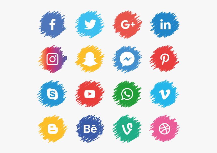 Logo Transparent Background Social Media, HD Png Download, Free Download