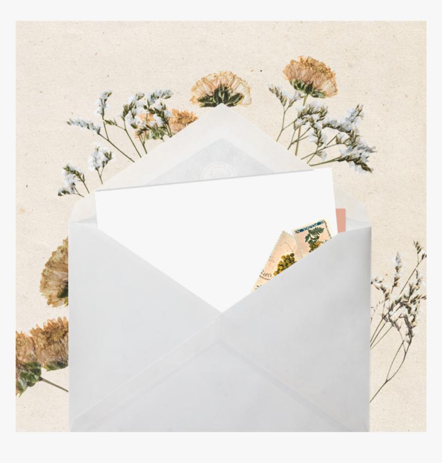 #instagram #letter #template #frame #mockup #lovely - Envelope, HD Png Download, Free Download