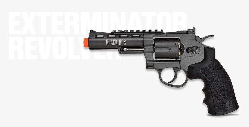 Exterminator Full Metal Revolver - Dan Wesson 8, HD Png Download, Free Download