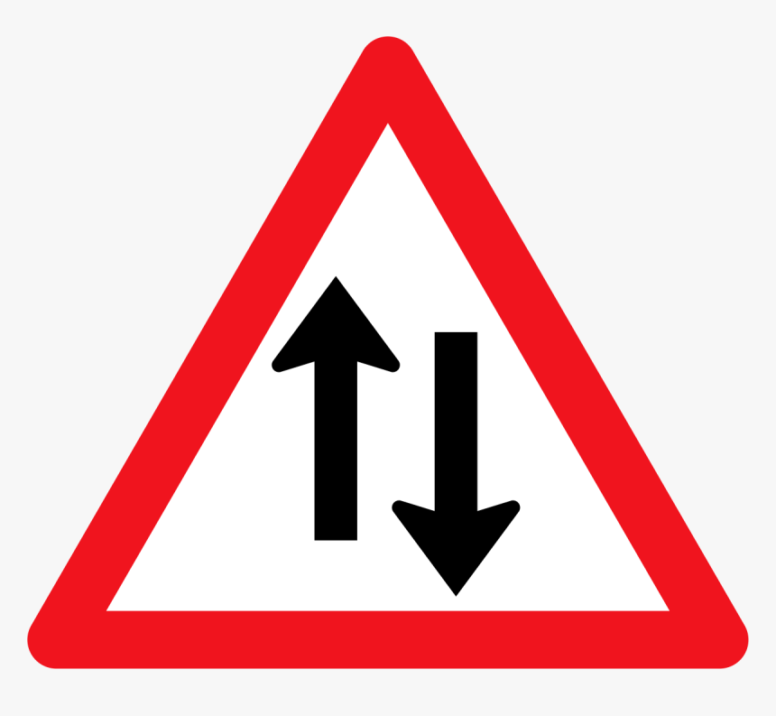 Two Arrow Road Signs, HD Png Download, Free Download