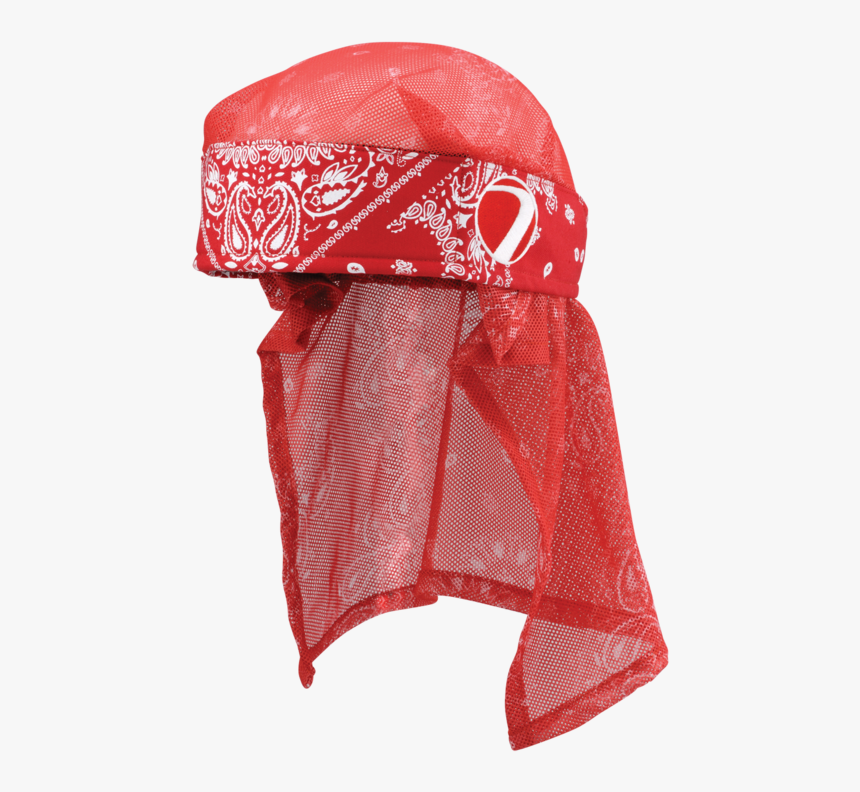 Head Bandana Png - Red Bandana On Head, Transparent Png, Free Download