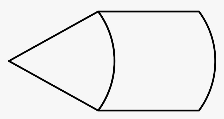Cone And Cylinder - Line Art, HD Png Download, Free Download