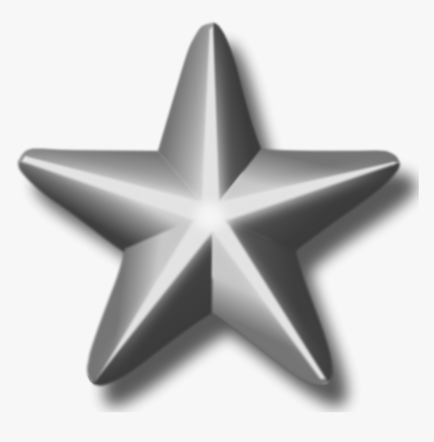 Service Silver Star Png Image - Silver Star Png, Transparent Png, Free Download