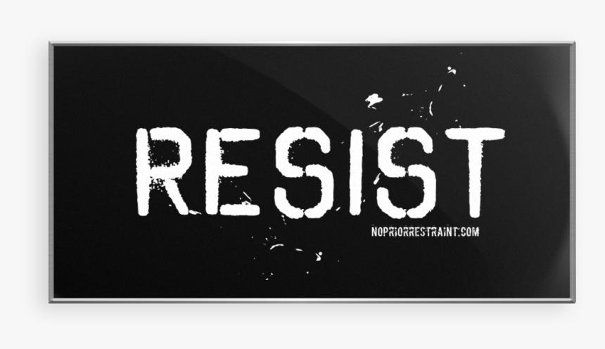 Resist Lapel Pin - Graphics, HD Png Download, Free Download