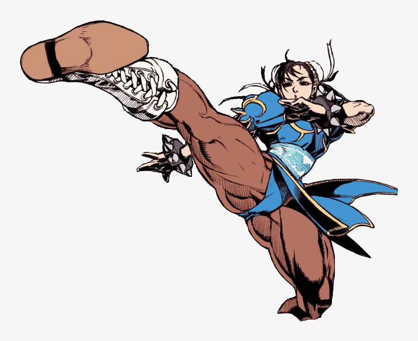 Super Street Fighter 2 Turbo Revival Chun Li Hd Png Download