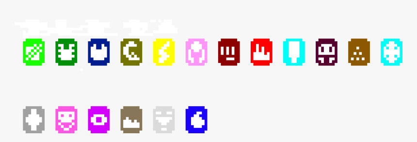 Pixel Art Pokemon Types, HD Png Download, Free Download