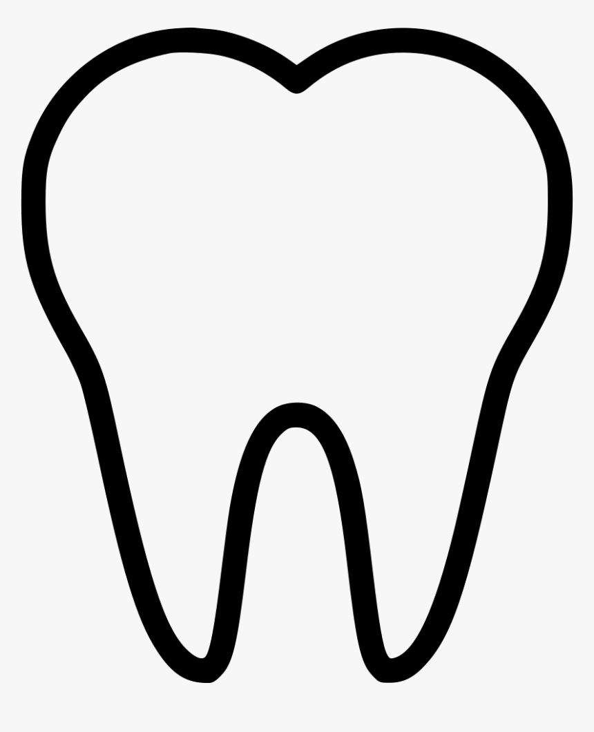 Tooth Teeth Dentist Dentistry Stomatology - Heart, HD Png Download, Free Download