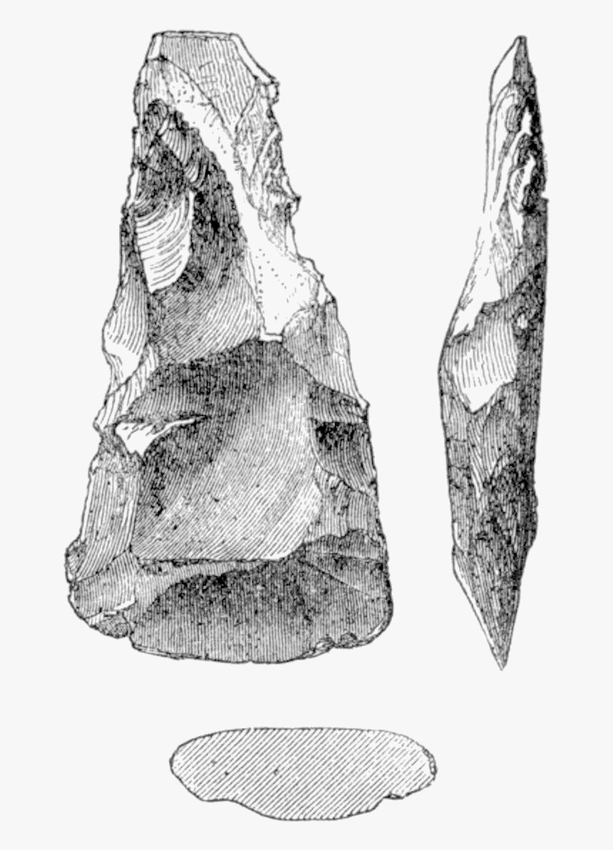 The Ancient Stone Implements 0091 - Sketch, HD Png Download, Free Download