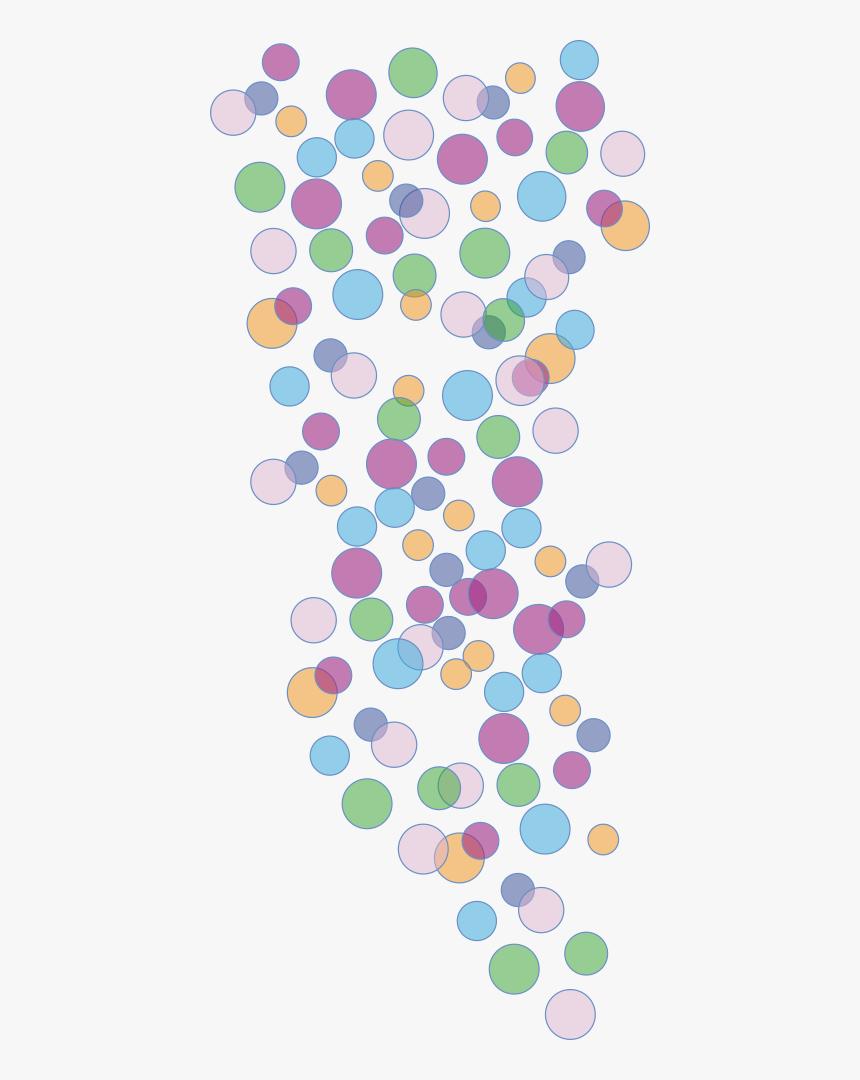 Colored Bubbles - Colorful Bubble Clipart Png, Transparent Png, Free Download