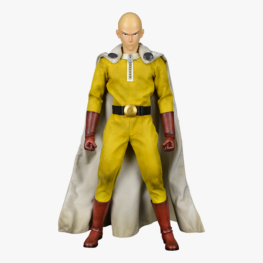 One Punch Man Saitama Action Figure, HD Png Download, Free Download